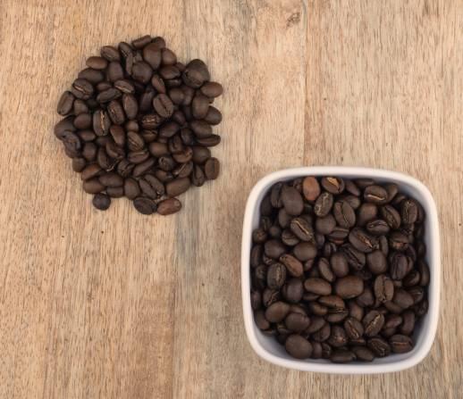 Café en grano arábica