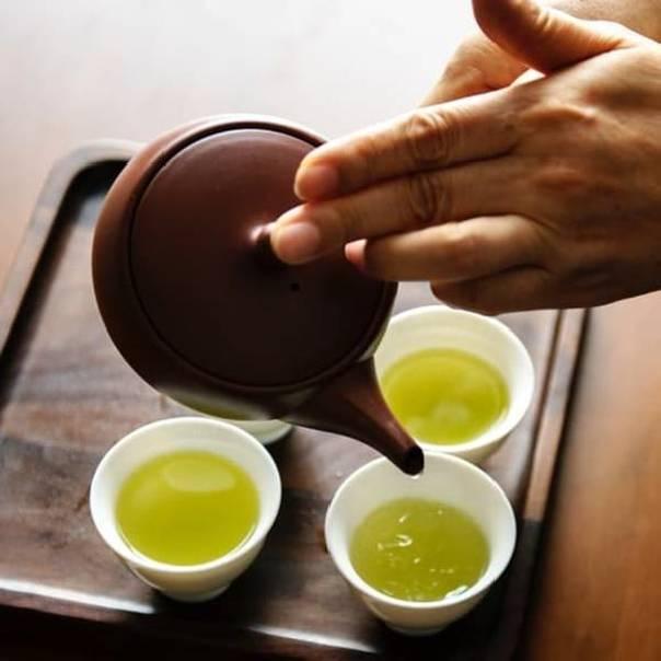 5 razones para beber té verde biológico